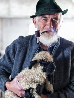 Alm Shepherd Category: Travel Portraits