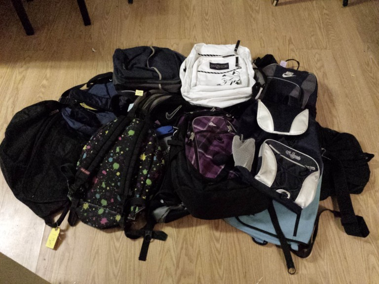 $20 Backpack for the homeless campaign
