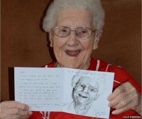 Facebook birthday card plea for Betty Musker, 104