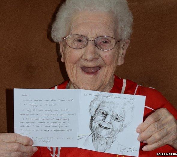 Facebook birthday card plea for Betty Musker, 104