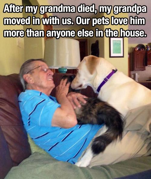 It's All About Grandpa