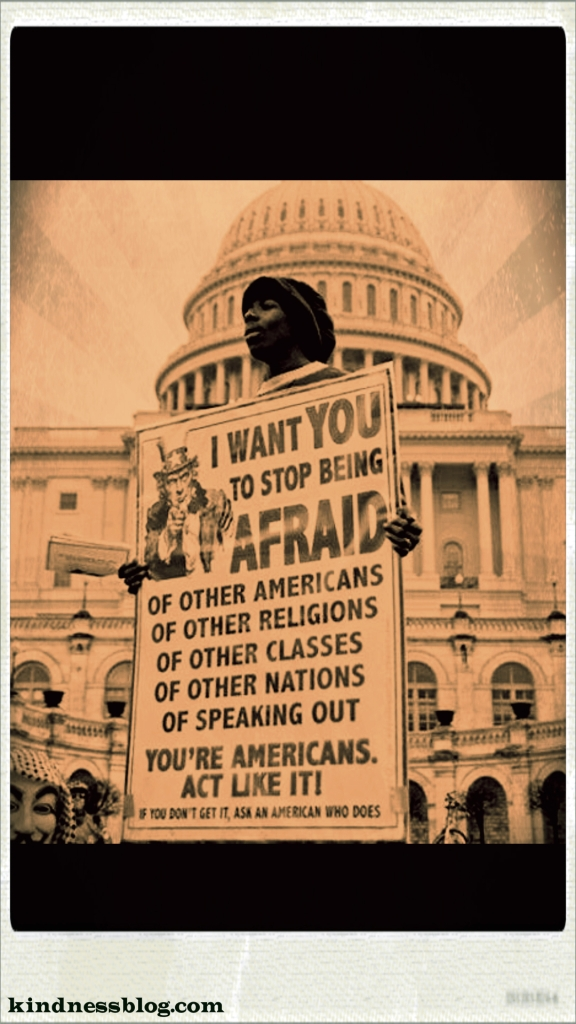 Americans - Don't be Afraid