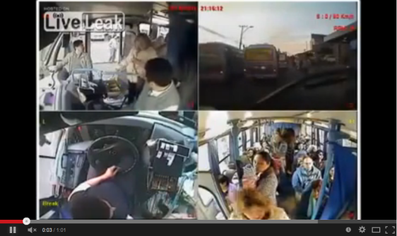 Bus Driver Offers His Seat to Mother & Baby to Make a Point