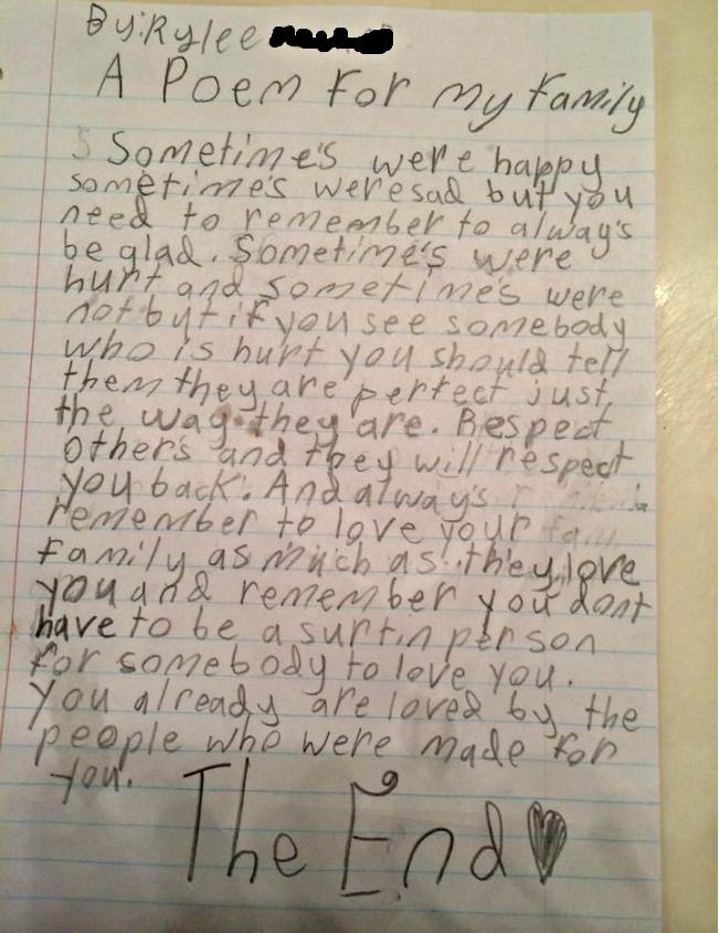 Write Family Poems