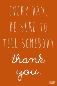 Quote About Saying Thank You