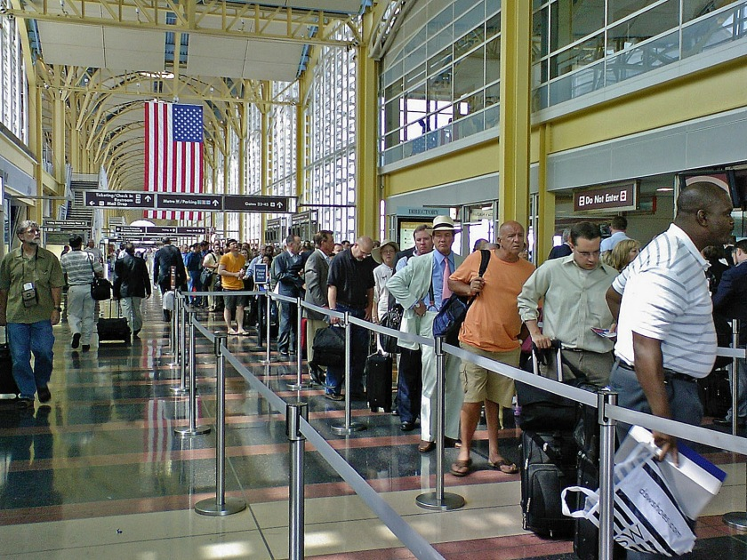 Kindness In The Airport Security Line