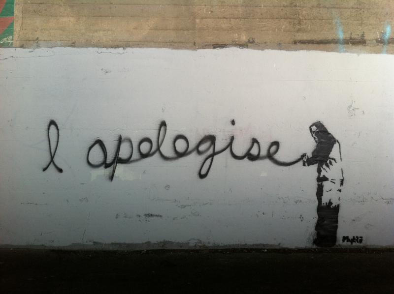 Apology?