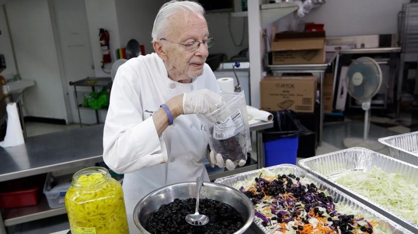 Arnold Abbot, 90