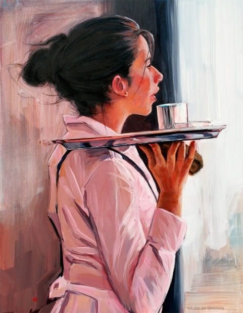 waitress art
