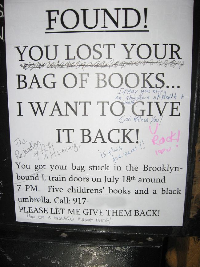 Bag of Books. FOUND!