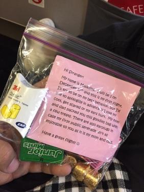 kindness on a plane
