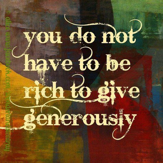 Her Generous Spirit - HeroicStories   Generous Spirit