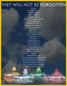 Names of Sandy Hook Elementary Victims