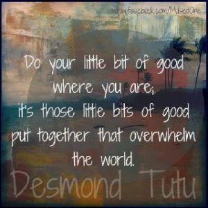 Desmond Tutu Quote About Kindness
