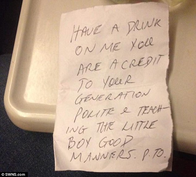 Kind Stranger's Note and Gift to a Young Mother for Teaching