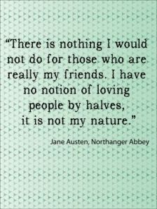 Jane Austen Quote About Friends