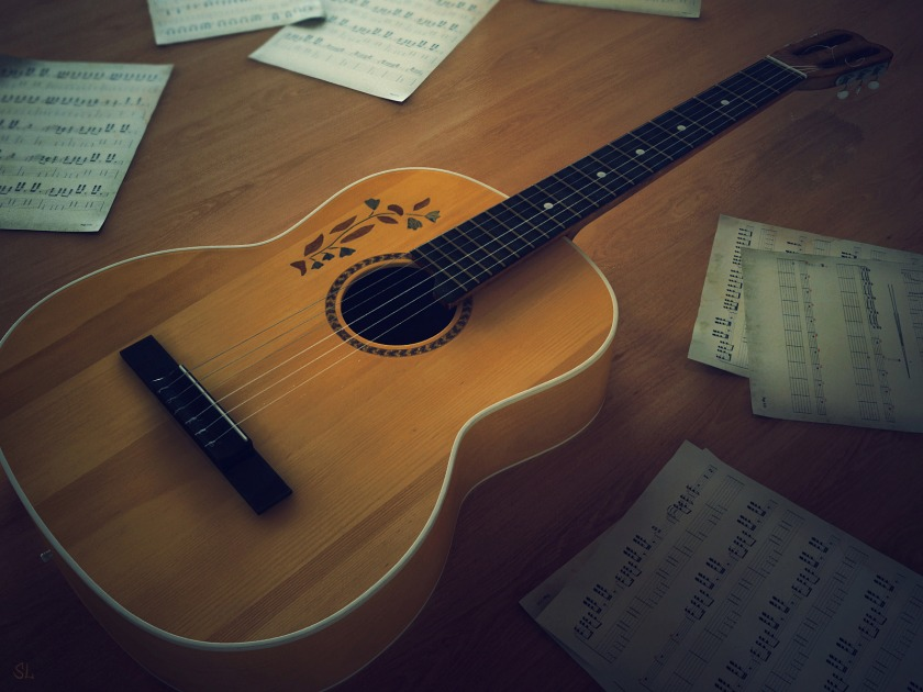 Acoustic-Guitar-Wallpapers