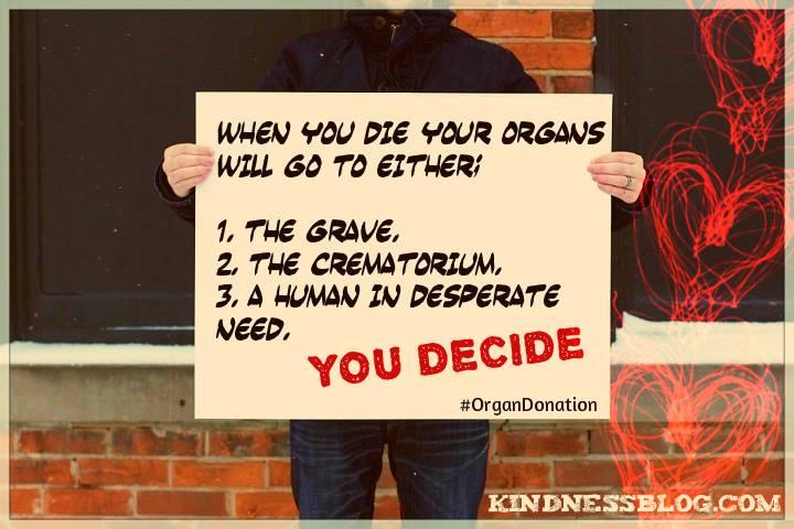 reasons for organ donation