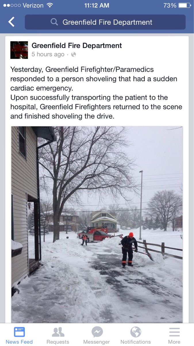 paramedic kindness