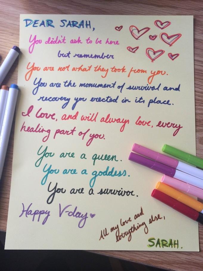 Read The Beautiful Love Letters Sexual Assault Survivors
