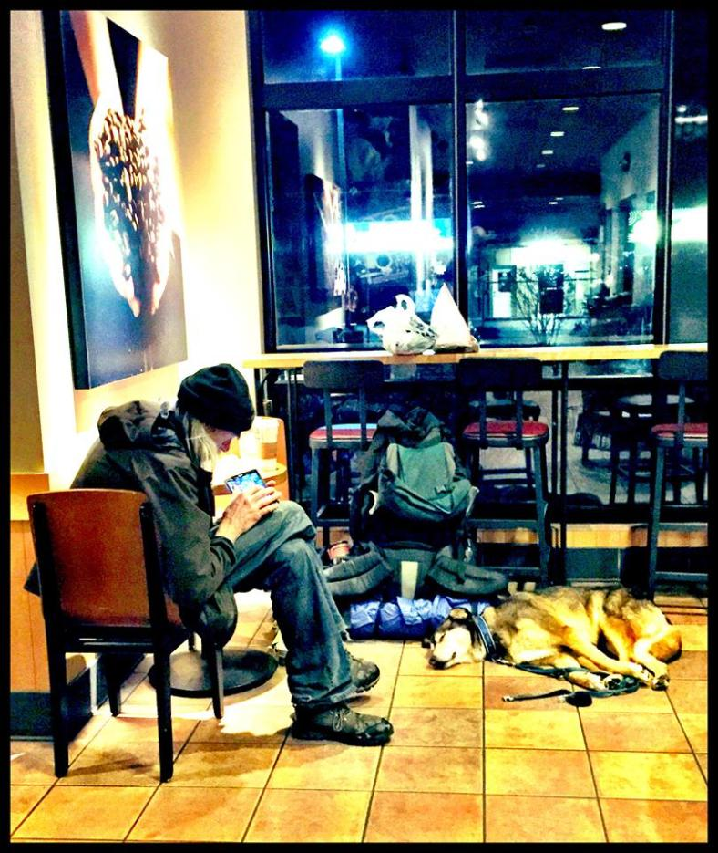 All This Homeless Veteran and His Dog Needed Was Human Kindness… 10391425_10153107124845479_3063609580685602474_n