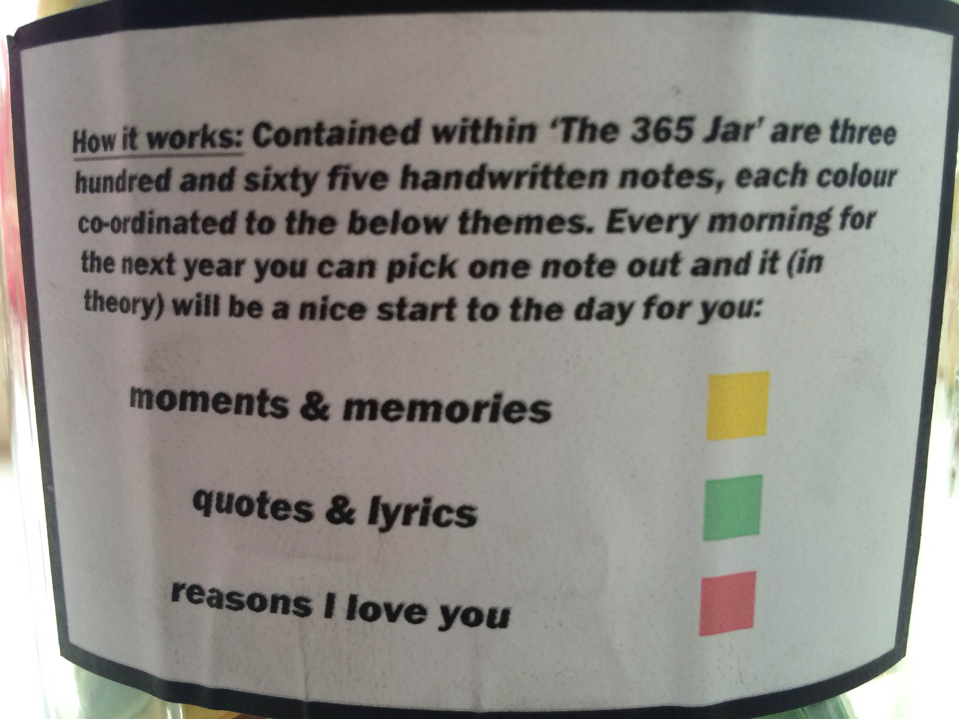 The 365 Jar By Name Withheld Kindness Blog