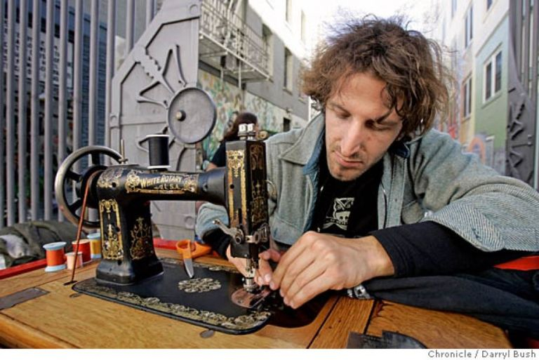 michael swaine - Reap What You Sew project