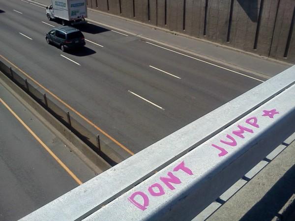 dont jump - suicide