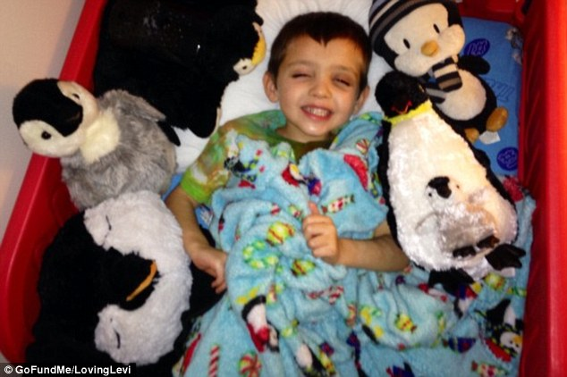 One Terminally ill 6-Year Old Boy and his Make-A-Wish Gift