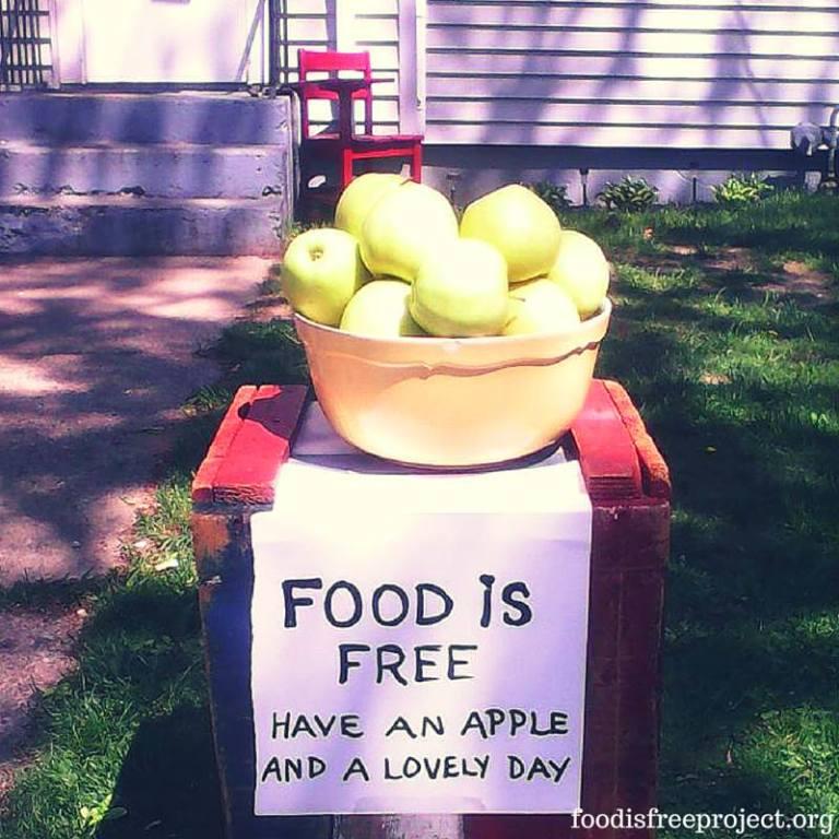 Apple kindness