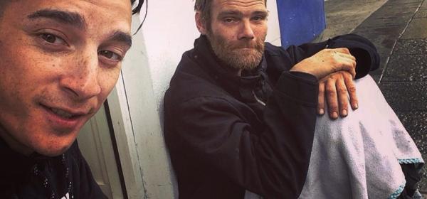 homeless man names john