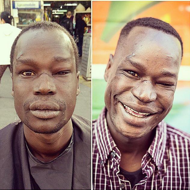 Nasir Sobhani aka 'The Streets Barber