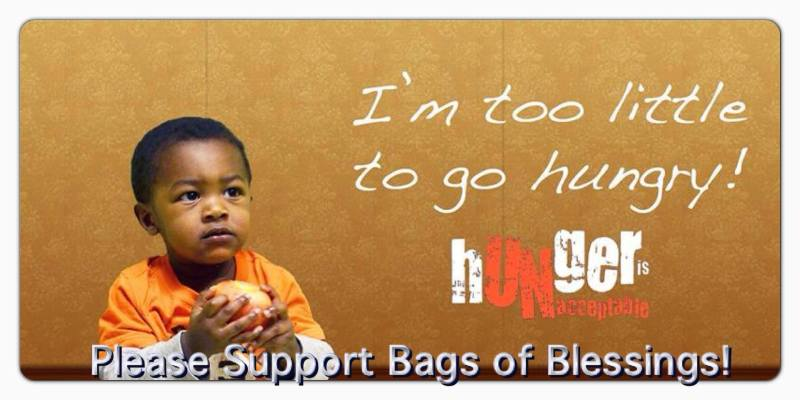 Bags of Blessings (Feeding Hungry Children)