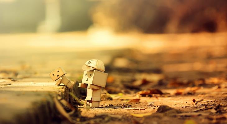 danbo helping