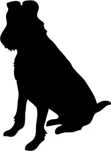 dog-silhouette-irish-terrier