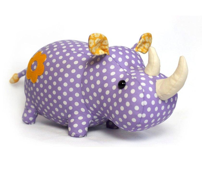 hand sewn stuffed animal