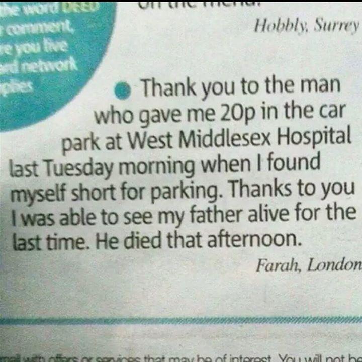 hospital kindness