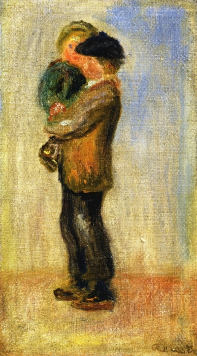 man carrying boy