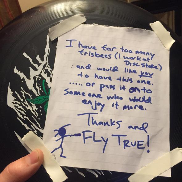frisbee kindness