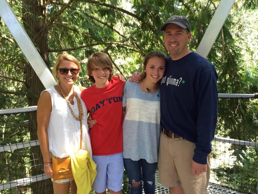 Trish Rohr and family