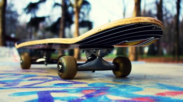 Skateboarding wallpaper