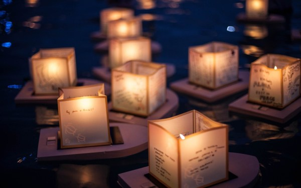 Lanterns Paper Candles Memory River