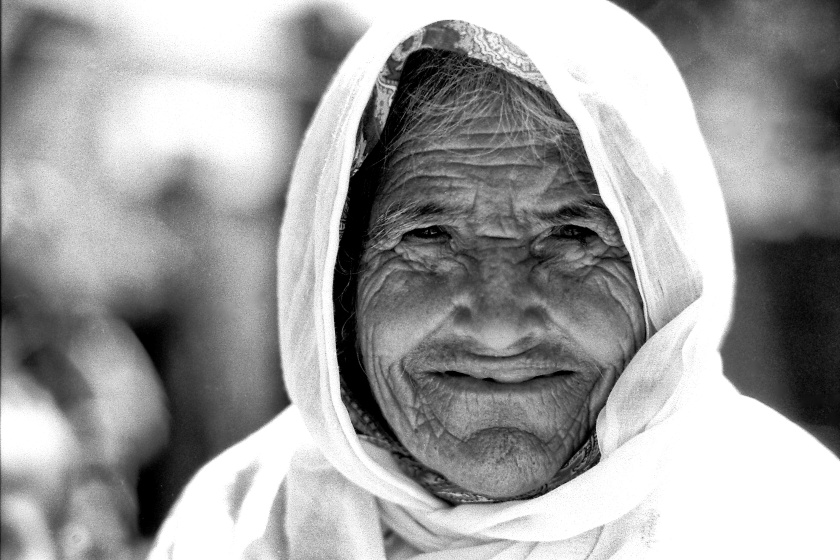 old woman palestinian