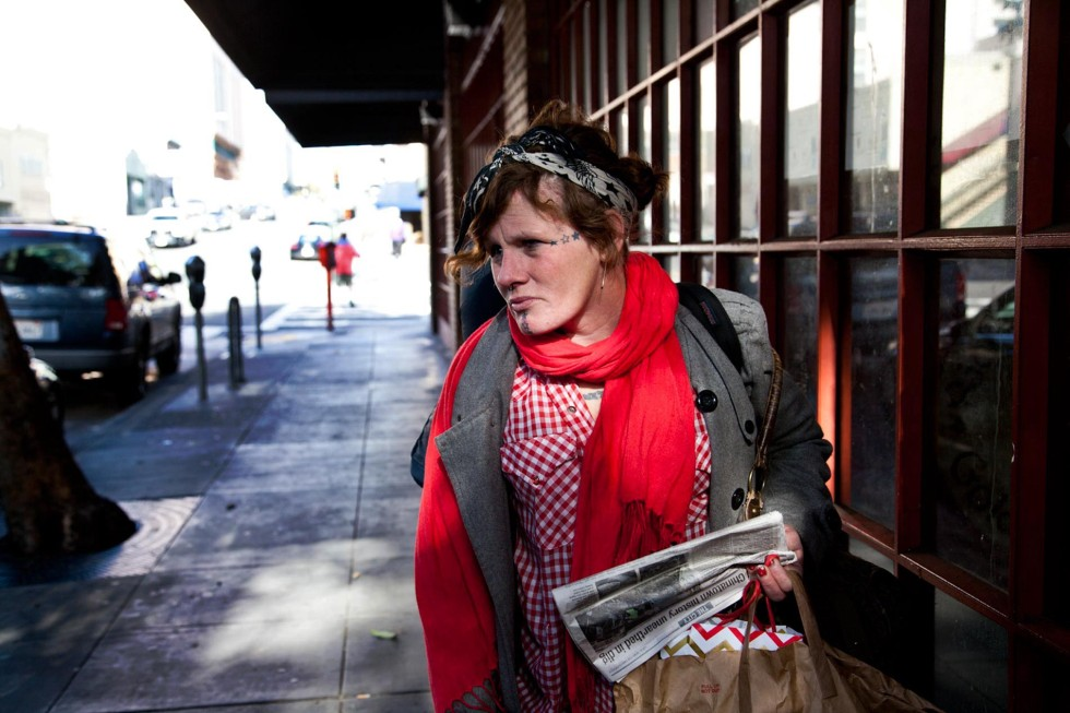 BLOOD IN THE STREETS Coping With Menstruation While Homeless - by Jennifer Weiss-Wolf