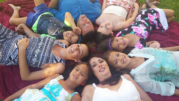 Laura Ruffino promised to adopt her best friend's daughters if she died of brain cancer.