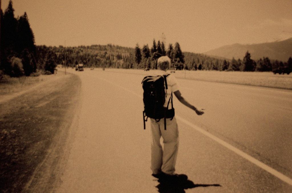 hitchhiking wallpaper