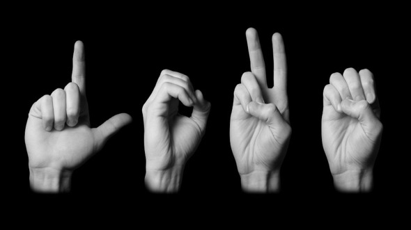 love sign language wallpaper