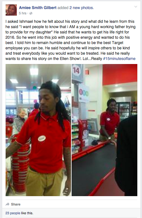 Target Employee's act of Kindness Will Inspire YOU to Practice Kindness