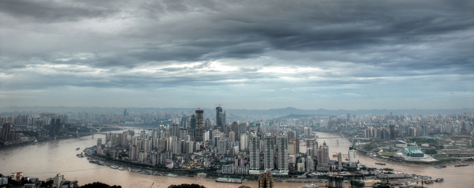 Skyline Of Chongqing