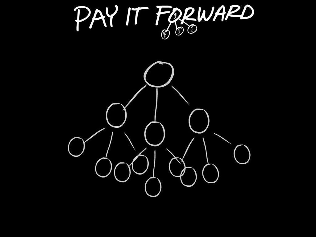 pay it forward wallpaper